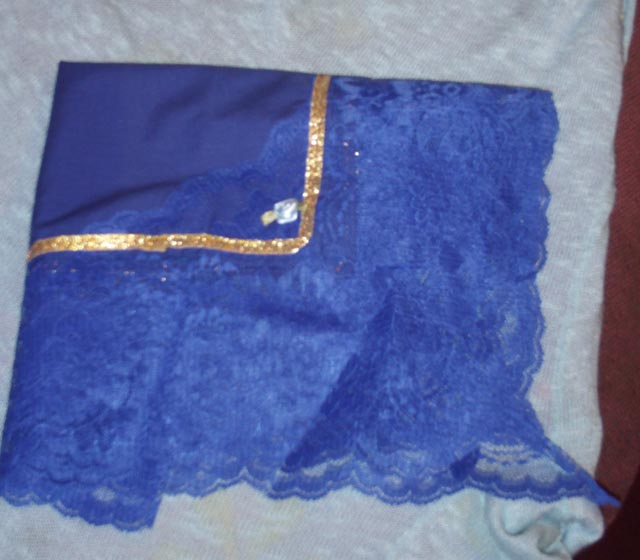 Lace Trimmed Hankie