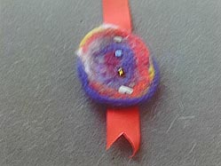 Felted Book Marker