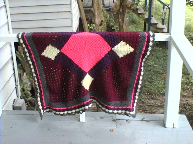 Amish Quilt Afghan