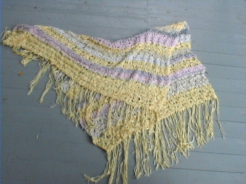 Light weight lace shawl